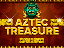 Автоматы Aztec Treasure - онлайн на деньги в Вулкане